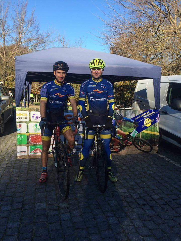 Leonor Moreira foi ao pódio na quarta etapa da Superliga Ciclocross