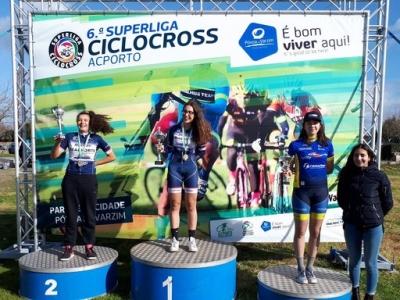 Superliga de Ciclocross terminou e tivemos a Leonor no pódio final