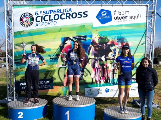 Superliga de Ciclocross terminou e tivemos a Leonor no pódio final