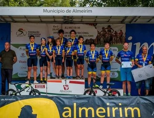 Dois pódios obtidos no difícil Encontro Nacional de Escolas de Ciclismo