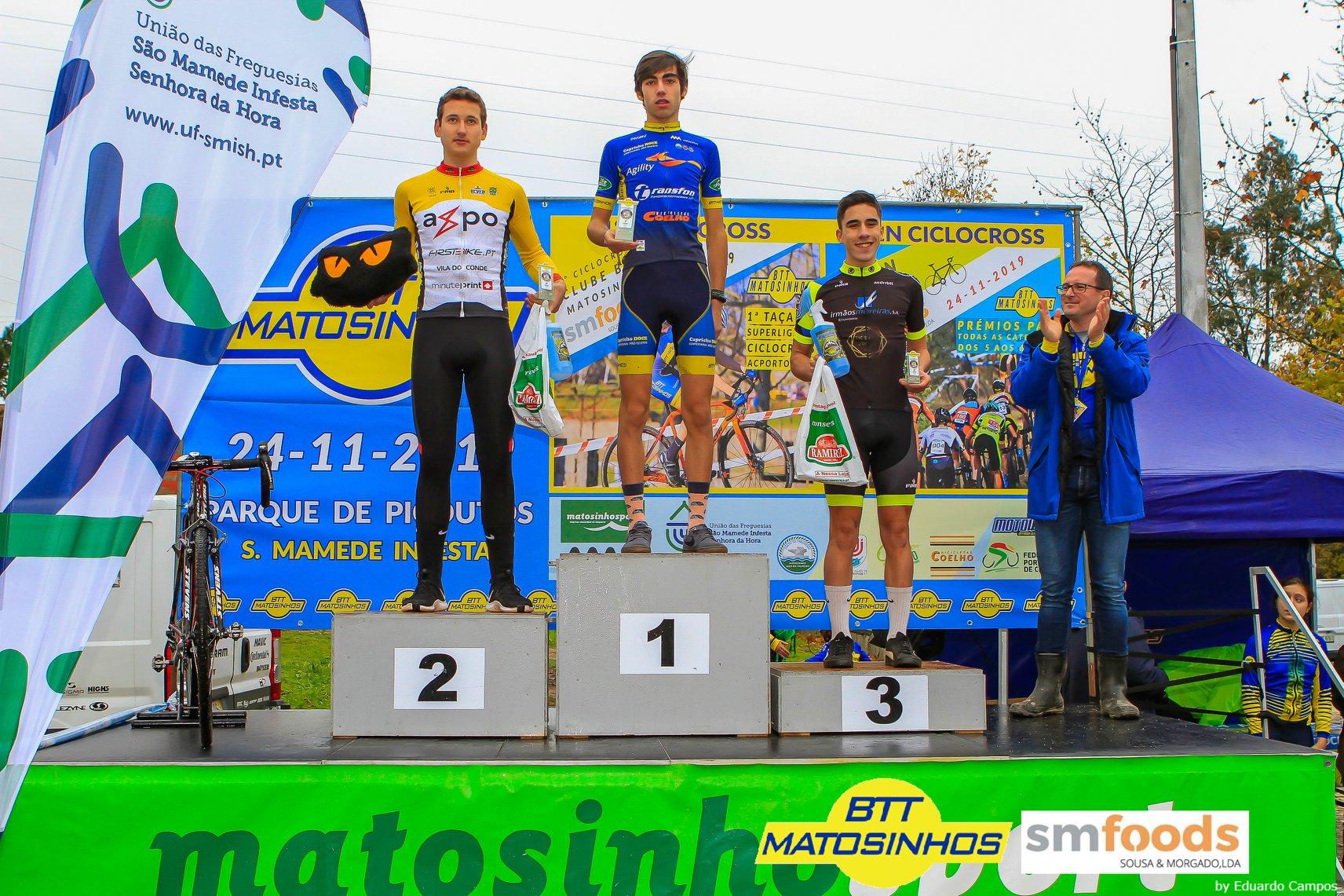 1º Ciclocross BTT Matosinhos foi um sucesso e subimos ao pódio