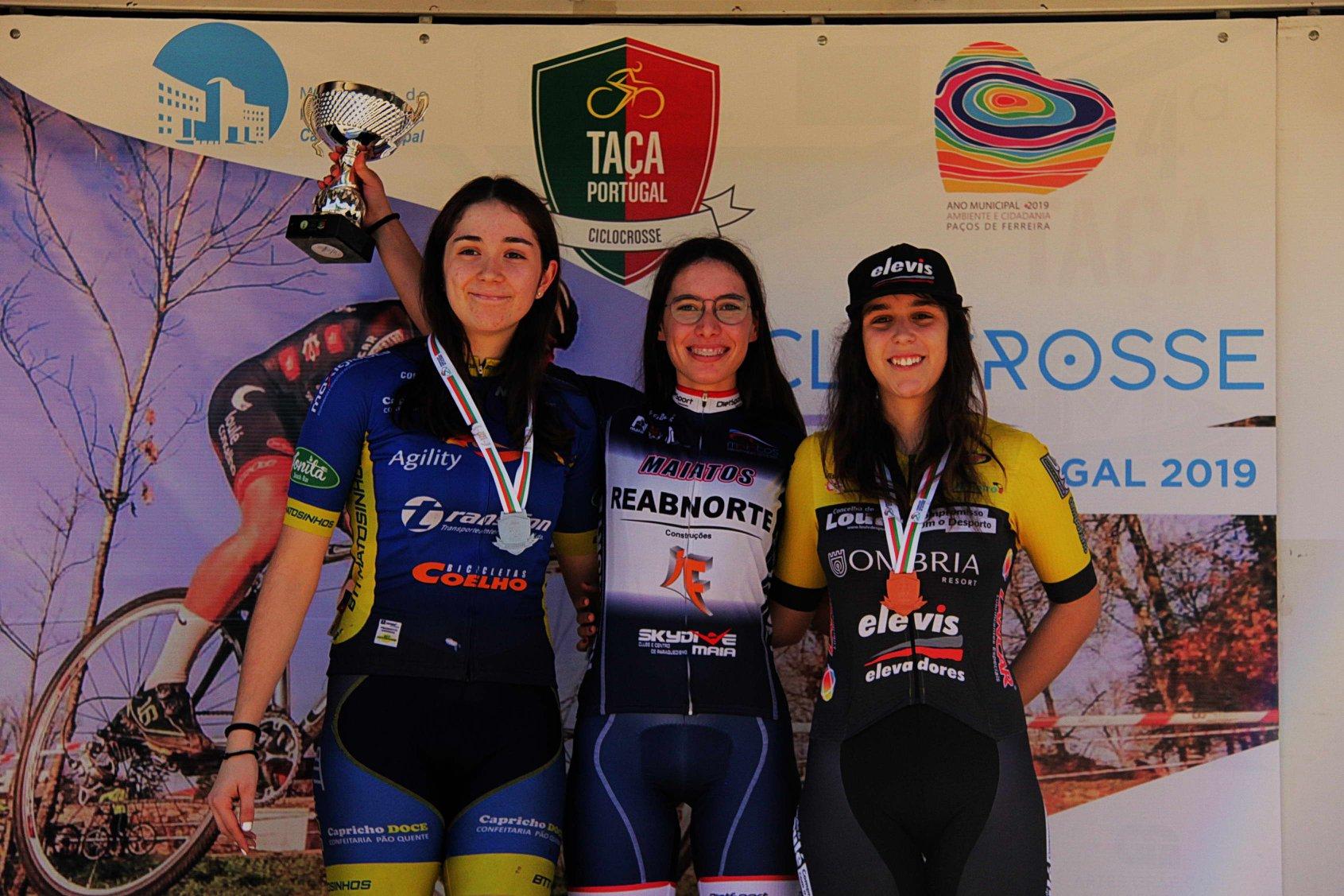 Taça de Portugal de Ciclocross rendeu duas medalhas de prata