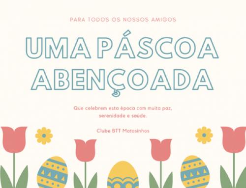 Feliz Páscoa, cheia de saúde e muita esperança num novo renascer!