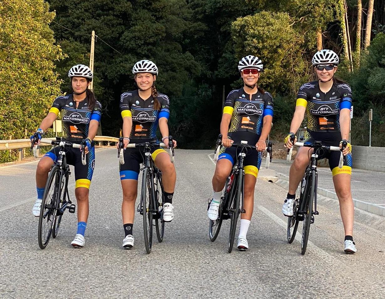 Equipa de estrada presente em dois Campeonatos Nacionais de Ciclismo