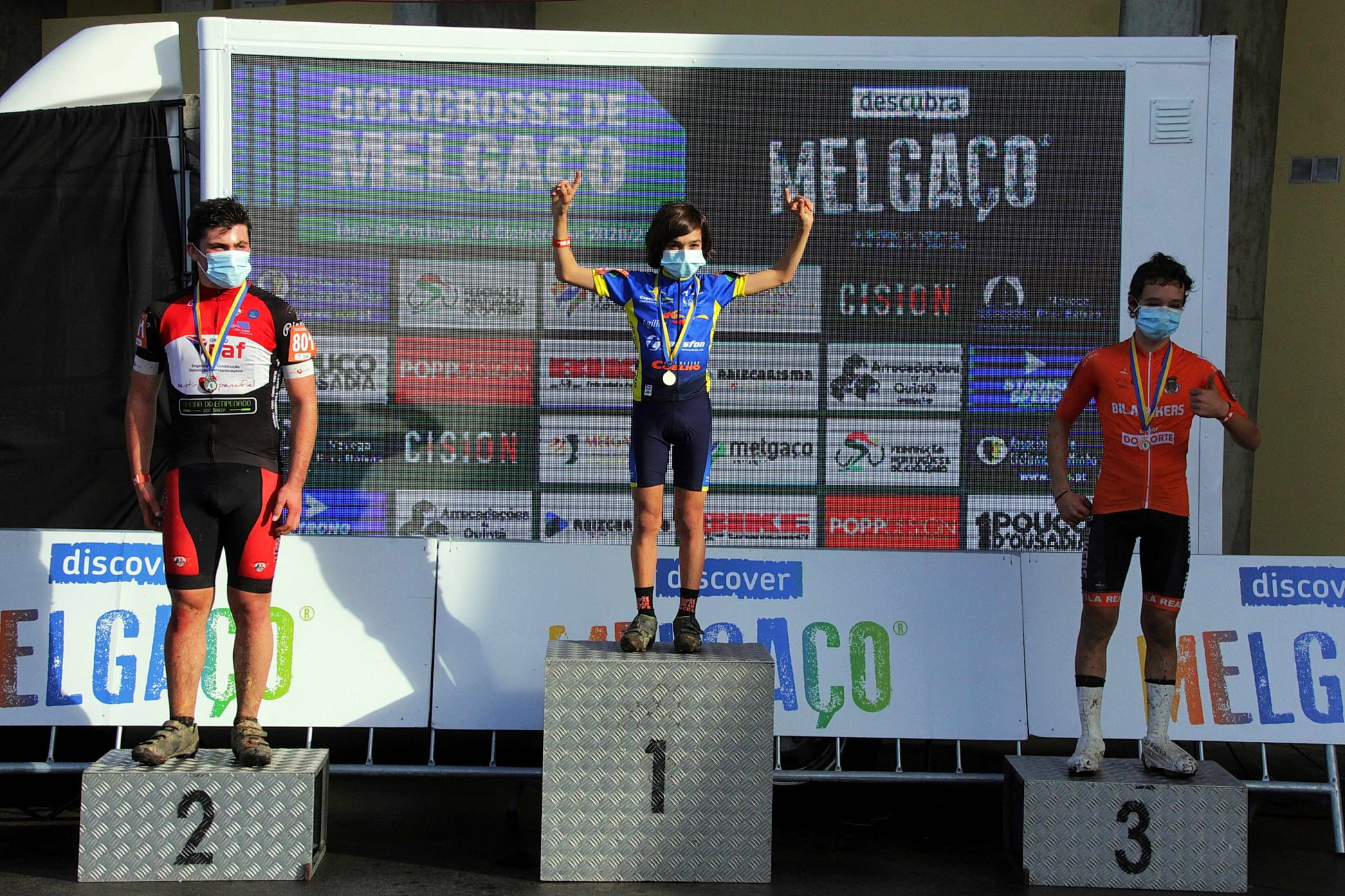 Uma vitória no arranque da Taça de Portugal de Ciclocrosse 2020/2021