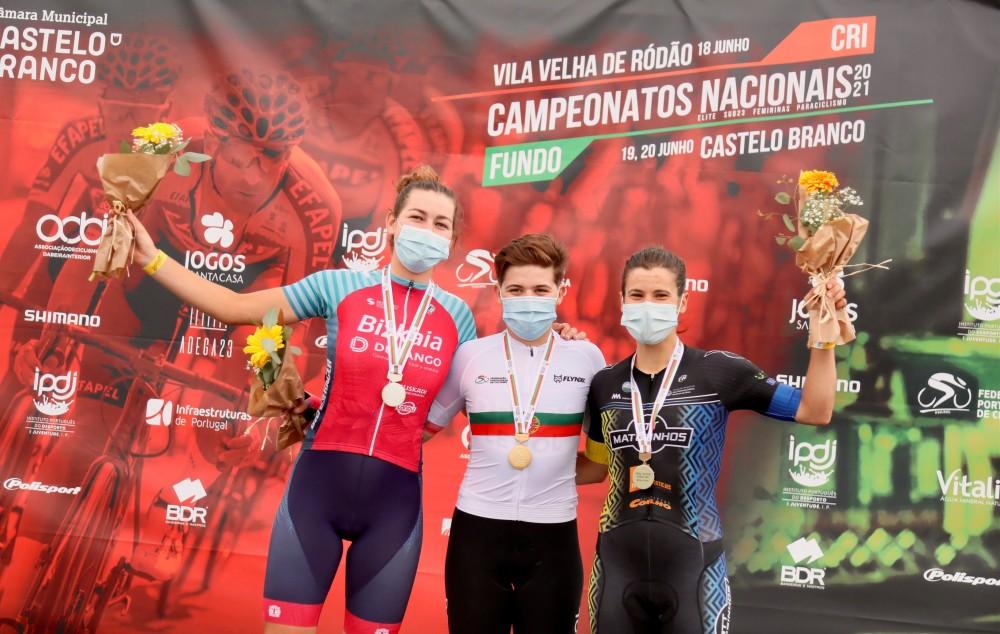 Daniela Pereira, sobe ao pódio no Campeonato Nacional de Estrada!