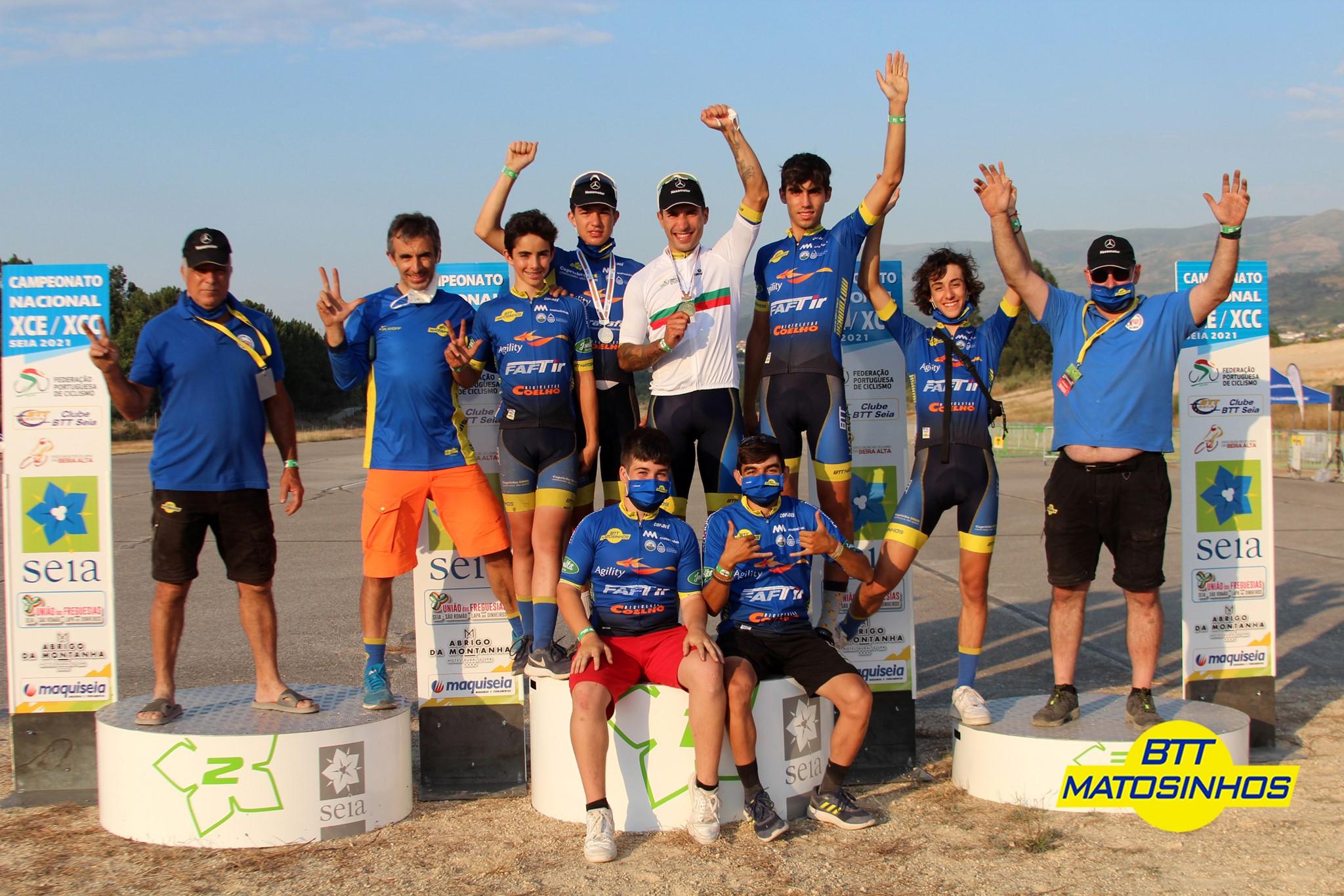 Ricardo Marinheiro Campeão Nacional de XCE e XCC e Eduardo Rodrigues Vice-Campeão